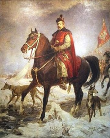 Winter in Warsaw, overshadowed by a political crisis. Sejm in 1585.