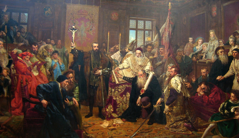 Sejm Concerning Execution of Rights and the Union with the Grand Duchy of Lithuania. Sejm in Warsaw. 1564.